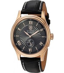 reloj negro s.coifman