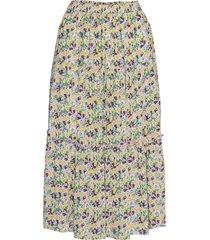 morning skirt knälång kjol multi/mönstrad lollys laundry