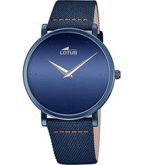 reloj 18781/2 minimalist azul lotus