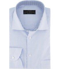 gestreept overhemd sleeve 7 john miller modern fit