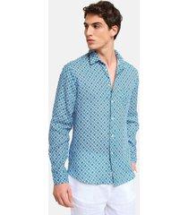 peninsula swimwear shirt tabaccara linen
