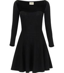 khaite dylan mini dress