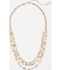 loft colorblock necklace