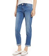 women's tommy bahama tema slim boyfriend jeans, size 30 - blue