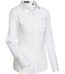 jacques britt dames overhemd poplin stretch