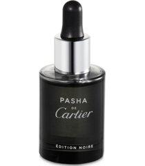 cartier men's pasha de cartier edition noire scented oil, 0.9-oz.