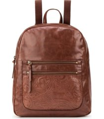 the sak reseda leather dome backpack