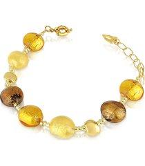 antica murrina designer bracelets, frida - murano glass bead bracelet