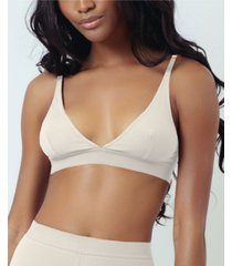 kilo brava super soft rib triangle women's bralette