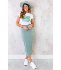fashion simplicity top mint