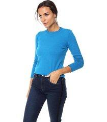 sweater azul nano gabrielle