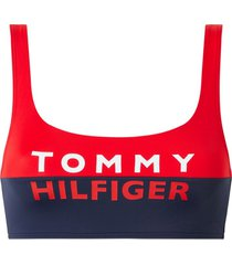 tommy hifliger bralette bikini top - rood
