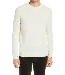 men's nn07 edward 6333 lambswool crewneck sweater, size x-large - beige