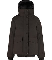 canada goose deep cove hooded down jacket
