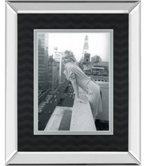 "classy art top of the world by chelsea collection mirror framed print wall art, 34"" x 40"""