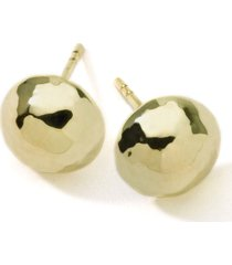 ippolita 'glamazon' 18k gold hammered ball earrings in yellow gold at nordstrom