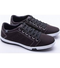 sapatênis pgd element brown masculino