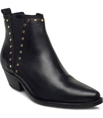stb-arietta chelsea studs l shoes boots ankle boots svart shoe the bear