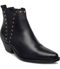stb-arietta chelsea studs l shoes chelsea boots svart shoe the bear