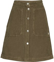 alba skirt kort kjol brun morris lady