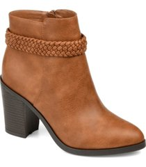 journee collection women's maggie bootie women's shoes