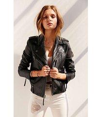 new designer genuine lambskin women biker leather jacket motorcycle jacket