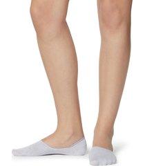 calzedonia - unisex cotton no show socks, 40-41, multicolor, women