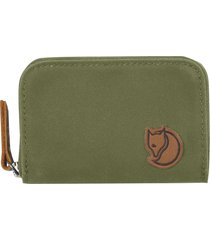 men's fjallraven zip card case - green