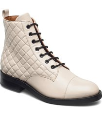 boots 4750 shoes boots ankle boots ankle boot - flat creme billi bi