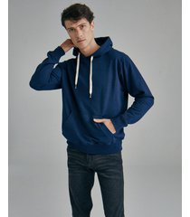 buzo azul equus hoodie golfo