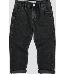 jeans med stretch - svart
