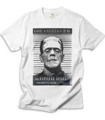 camiseta cinema cool tees frankstein - masculino