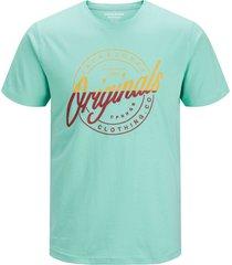 jack & jones t-shirt 12155596 jorrival blauw