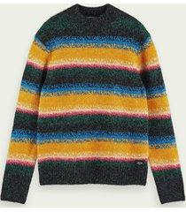 scotch & soda wool-blend striped pullover