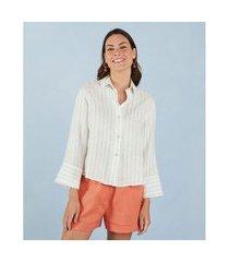 camisa joan cor: branco - tamanho: pp