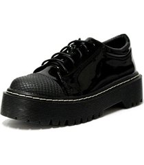 zapato cadiz urbano negro detogni