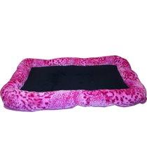 colchón para perro mediano - rosa