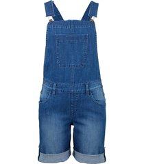 salopette di jeans corta (blu) - john baner jeanswear