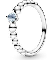 anel esferas azul piscina - mês de março
