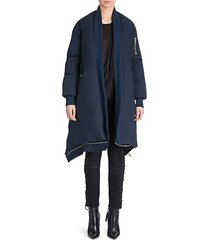 tela down bomber cape