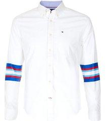 camisa m blevin stretch blanco tommy hilfiger