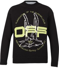 off-white branded sweater