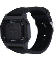 relógio digital x games xgppd112 - masculino - preto