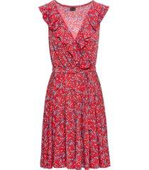 abito a fiorellini (rosso) - bodyflirt