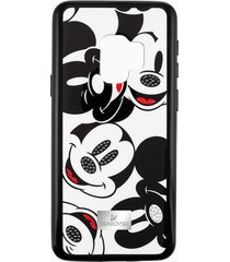 custodia smartphone con bordi protettivi integrati mickey face, galaxy sâ®9, nero