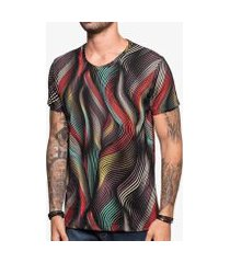 camiseta abstract lines hermoso compadre masculina