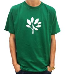 camiseta progress- pgs - logo verde