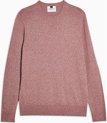 mens rose pink essential sweater