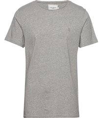 austin loose fit t-shirt t-shirts short-sleeved grå les deux
