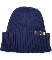 gorro azul fight for your right manal